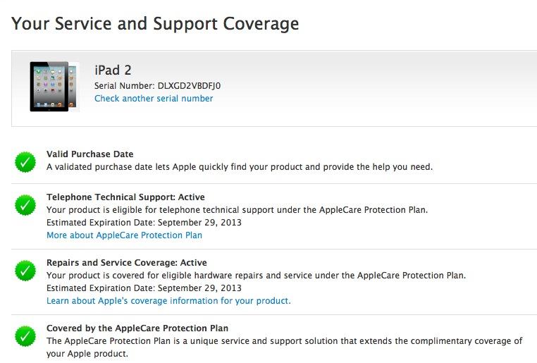 iPad2 Coverage